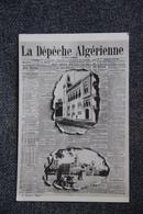 """Journal : """" La Dépêche Algérienne """" - Autres"""