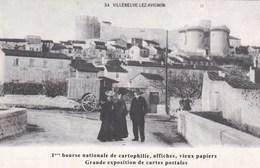 VILLENEUVE LES AVIGNON ERE BOURSE NATIONALE CARTOPHILIE (dil405) - Bourses & Salons De Collections