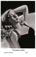VERONICA LAKE - Film Star Pin Up PHOTO POSTCARD - 27-64 Swiftsure Postcard - Postales