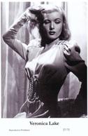 VERONICA LAKE - Film Star Pin Up PHOTO POSTCARD - 27-72 Swiftsure Postcard - Postales