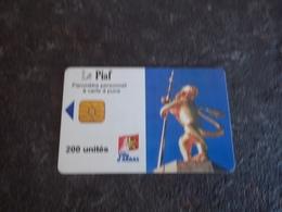 JOLIE CARTE A PUCE PIAF ARRAS 200u 1000ex DU 09/00 T.B.E !!! - Frankrijk