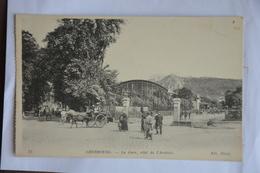 CHERBOURG-la Gare,cote De L'arrivee-attelage - Cherbourg