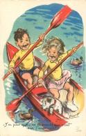 GERMAINE BOURET EDITION MD  SERIE 675  Y'A PAS QUE LES CANARDS QUI VONT SUR L'EAU - Bouret, Germaine