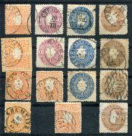 Sammlung 1850-1867  Sachsen Staatswappen  O/gest./used/  Siehe Bilder - Sachsen