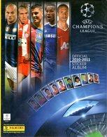 B 2136 - Album Figurine, Calcio, Panini, Champions 2010-11 - Tarjetas