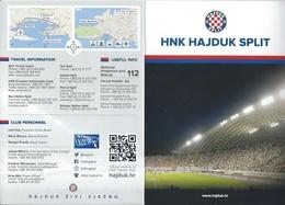 Sport Programme PR000013 - Football (Soccer / Calcio) Croatia Hajduk Split - Programs
