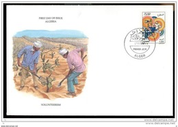 Algeria, Michel # 938, Tourism, First Day Cover - Unclassified