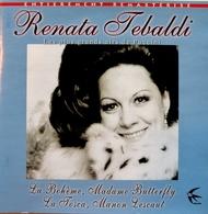 RENATA TEBALDI. Les Plus Grands Airs De Puccini. - Opera