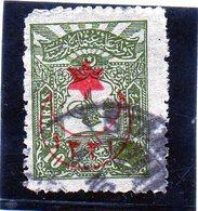 B - 1915 Turchia - Piccolo Tughra - Soprastampato - Usados