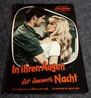 """Altes IFB-Filmprogramm - BRIGITTE BARDOT In """"In Ihren Augen Ist Immer Nacht"""" Mit Alida Valli ... - 180614 - Magazines"""