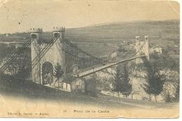 Postal Francia. 24 Pont De La Caille. Ref. 7-3ay126 - Francia