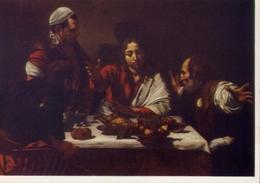 London - National Gallery - Michelangelo Merisi Da Caravaggio - Cena Iun Emaus - Formato Grande Non Viaggiata – E 7 - Cartoline