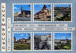 Luxembourg - Ville Millenarie - Formato Grande Viaggiata – E 7 - Cartoline