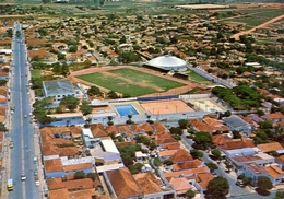 Tupa - Brasil - Vista De Tupa Tens Club Estadio Municipal E Ginesio De Esportes - Formato Grande Viaggiata - E 7 - Cartoline