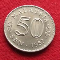 Malaysia 50 Sen 1987 KM# 5.3  Malasia Malaisie Malaysie Maleisie - Malaysie