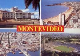 Montevideo - Uruguay - Formato Grande Viaggiata – E 7 - Cartoline
