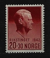NORWEGEN - Mi-Nr. 265 Hilfsfonds Postfrisch - Norwegen