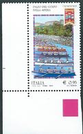 Italia, Italy 2015; Palio Del Golfo Della Spezia , Gara A Squadre Di Canottaggio : Angolo Inferiore. Nuovo - Canottaggio