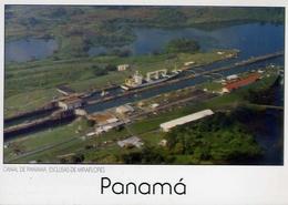 Canal De Panama Esclusas De Miraflores - Formato Grande Non Viaggiata – E 7 - Cartoline