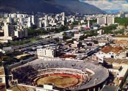 Caracas - Venezuela - Piaza De Toror Nuevo Circo - Bullring Nuevo Circo - Formato Grande Viaggiata - E 7 - Cartoline
