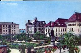 Craidva - Vedere Din Piata - Al I- Cuza - Formato Grande Viaggiata – E 7 - Cartoline