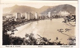 PRAIA DE S VICENTE. FOTOLABOR. CIRCA 1940's- BLEUP - Brazilië