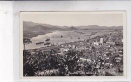SANTOS. VISTA PARCIAL. FB. CIRCA 1930's- BLEUP - Brazilië