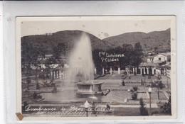 FTE LUMINOSA, P CALDAS. LEMBRANÇA DE POÇOS DE CALDAS. CIRCA 1930's- BLEUP - Brazilië