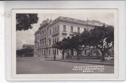 PALACIO DO GOVERNO. RECIFE. PERNAMBUCO. FOTO REAL. CIRCA 1940's- BLEUP - Recife