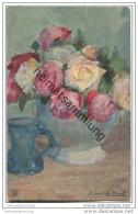 Rosen - Signiert A. Gumlich-Kempf - Flores, Plantas & Arboles