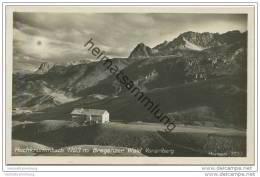 Hochkrummbach In Vorarlberg - Bregenzer Wald - Foto-AK 20er Jahre - Warth