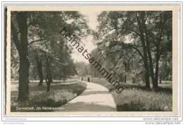 Darmstadt - Herrengarten - Foto-AK - Darmstadt
