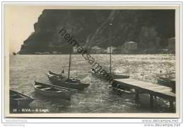 Riva Del Garda - Il Lago - Foto-AK 20er Jahre - Italien