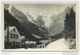 Trafoi Con L' Albergo Edelweiss E La Vedretta Alta - Foto-AK 20er Jahre - Italien