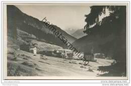 Trafoi Con La Palla Blanca - Foto-AK 20er Jahre - Italien