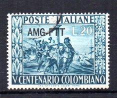 TRIESTE 1951 CANCELLED - 7. Trieste