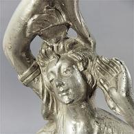 ~ GRAND PIED DE LAMPE STATUE FEMME 1930'S - Sculpture Art Déco - Sculptures