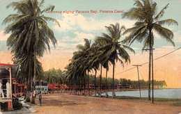 PANAMA CANAL~CAUSEWY EDGING PANAMA BAY POSTCARD 33852 - Panama