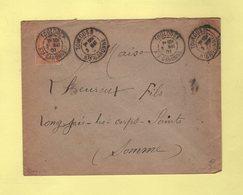 Daguin - Toulouse - Haute Garonne - 3 Mai 1901 - Marcophilie (Lettres)