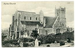 HYTHE CHURCH / POSTMARK - HYTHE / ADDRESS - CRICKLEWOOD, LONDON (OLIVE ROAD) - England