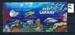 Australia 2018 Reef Safari 5val M/s Sheet Muh AA971 - 2010-... Elizabeth II