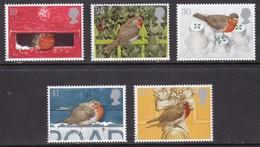 Great Britain, Fauna, Birds, Christmas MNH / 1993 - Autres