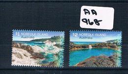 Australia/norfolk Isl 2018 Crystal Pool 2val Sheet Muh AA968 - Norfolk Island