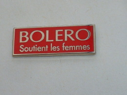 Pin's LINGERIE BOLERO, SOUTIENT LES FEMMES - Pin-ups