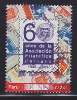 PERU 2009 , PERUVIAN PHILATELIC ASSOCIATION , 1V , USED - Peru