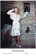 VERONICA LAKE - Film Star Pin Up PHOTO POSTCARD - E138-4 Swiftsure Postcard - Postales