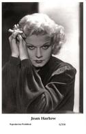 JEAN HARLOW - Film Star Pin Up PHOTO POSTCARD - 6-358 Swiftsure Postcard - Postales