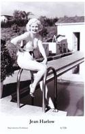 JEAN HARLOW - Film Star Pin Up PHOTO POSTCARD - 6-366 Swiftsure Postcard - Postales