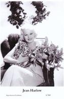 JEAN HARLOW - Film Star Pin Up PHOTO POSTCARD - 6-360 Swiftsure Postcard - Postales