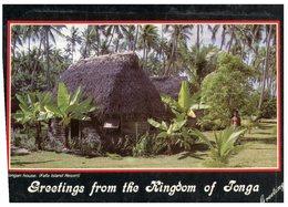 (201) Kingdom Of Tonga Houses (greeting Card) - Tonga